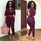 New Women Ladies Clubwear Summer Playsuit Bodycon Party Jumpsuit&Romper Trousers