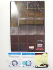 Deadpool # Ensemble des objets 3D Heroclix op Kit / VESTE / OMEGA drive / Ballon / carte