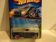 2005 Hot Wheels Treasure Hunt #125 Black '56 Flashsider w/Real Riders Painted