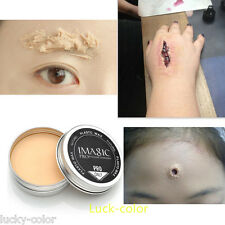 Wound Scar Modeling Wax Covering Eyebrow Blocker Special Effects Stage Makeup #5