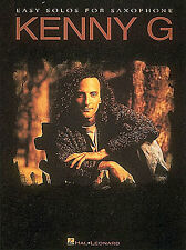KENNY G Easy Solos Soprano Sax Saxophone Music Book