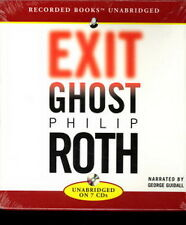 Audio book - Exit Ghost by Philip Roth  -  CD
