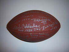 TOM FEARS,ERNIE STAUTNER,DOUG ATKINS +9 JSA/LETTER SIGNED FOOTBALL