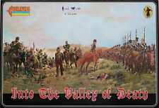 STRELETS 1/72 INTO THE VALLEY OF DEATH LIGHT BRIGADE SET of PLASTIC FIGURES #901