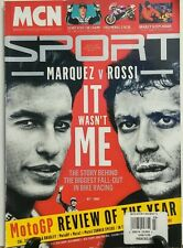 MCN Sport Season Review 2015 Marquez vs Rossi Or Wasn't Me FREE SHIPPING sb