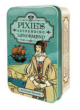 PIXIE'S ASTOUNDING LENORMAND TAROT IN TIN Deck Card Set fortune oracle cards