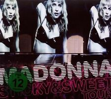 "MADONNA ""STICKY & SWEET TOUR"" CD+DVD NEU"
