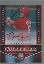 2012 Panini Elite Extra Dylan Cozens Red Ink Auto RC /25