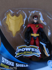 DC Universe Power Attack STRIKE SHIELD ROBIN Loose 6 Inches