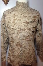 Men's USMC US Marine Corps Navy Jacket Coat Shirt Uniform Insect Shield Size S M
