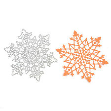 Memory Box Snowflake Cutting Dies Stencil DIY Scrapbooking Emboss Photo Album