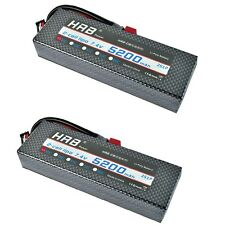 2pcs HRB 5200mAH 7.4V 35C-70C 2S RC Lipo Battery AKKU for RC Car Truck Airplane