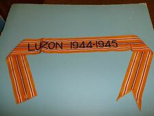 rst042 WW 2 US Army Flag Streamer Pacific Luzon 1944 1945