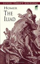 The Iliad (Dover Thrift Editions) by Homer, (Paperback), Dover Publications , Ne