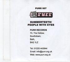 (FT726) Summerteeth, People With Eyes  - 2003 DJ CD