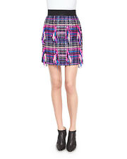 Milly Couture Tweed Pencil Skirt, Multi Colors
