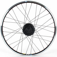 "NuVinci N360 20"" Rear Bicycle Wheel // Velocity Aeroheat // Disc Brake"