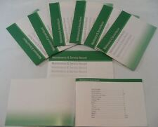Generic Service History Book Suitable For C1 C2 C3 C4 C5 DS4  DS5 DS3 Green