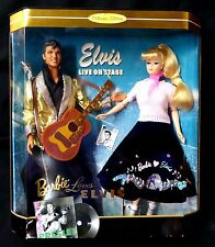 "Barbie Loves Elvis Box Set Collector Edition Mattel 12"" New from 1996 Presley"