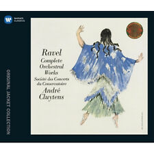 MAURICE RAVEL - COMPLETE ORCHESTRAL WORKS 4CD KOREA EDITION BRAND NEW SEALED