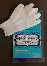 MACHINGERS NIPackage Quilter's Gloves Sz S/M maximum grip SIZE CHART included