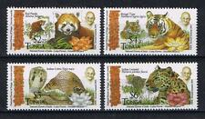 Tonga - 2016 Gandhi and Animals of India Postage Single Stamps Set