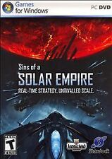 BRAND NEW Sealed Sins of a Solar Empire (PC, 2008)