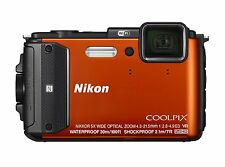 Nikon COOLPIX AW130 Digital Camera - Orange