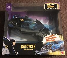 NEW IN BOX The Batman - BATCYCLE Vehicle - DC Mattel 2004