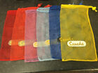 SANSHA Mesh Bag for Pointe and Dance shoes various colours and locking pull cord