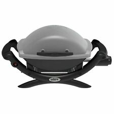 Weber Q 1000 Propane Gas Grill Portable Table Top Titanium 50060001 NEW