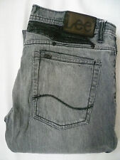 Lee Powell Jeans Para Hombre Stretch Slim Straight Fit W34 para Gris leve682
