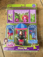 RARE New Polly Pocket Ultimate Style Charms And Fringe Boutique