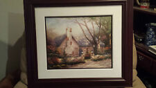 """Morning Glory Cottage"" Thomas Kinkade;Gallery Proof on Paper 392/1210"
