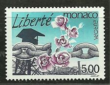 MONACO 1995 Very Fine MNH  OG Stamp Scott# 1945  CV 2.40$