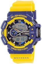 Casio Men's G-Shock GA400-9B Blue Plastic Quartz Watch