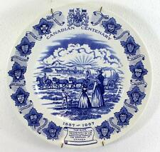 1867-1967 Canadian Centenary Collector Plate - Barretts of Staffordshire England