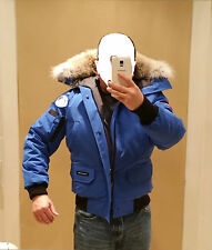 2017 LATEST CONCEPT POLAR BEAR CANADA GOOSE BLUE LABEL PBI CHILLIWACK SM PARKA