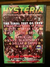 Hysteria 25 Drum n Bass 6 CD pack. Rare classic volume 1999