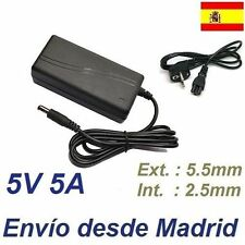 Cargador Corriente 5V 5A 25W Microsoft Wireless Entertainment Desktop 8000