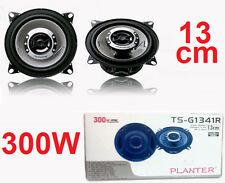 Casse altoparlanti diffusori 300 Watt.Per auto,HD sound,impianto stereo 13 cm