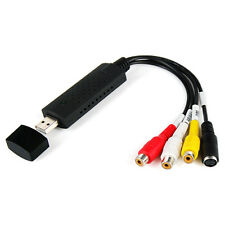 Usb 2.0 de captura de video Adaptador Con Audio Para Ps Xbox 360 Av Vhs Dvt Cctv