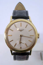 Vintage 18k LONGINES Mens Winding Watch c.1950s Cal 27M* Good Cond* Ref 6879