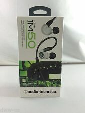 Audio-Technica ATH-IM50 IM50 Dual symphonic-driver In-ear headphones White