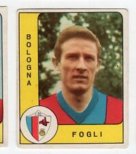 figurina - CALCIATORI PANINI 1961/62 OPACHE REC - BOLOGNA FOGLI