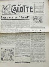 La Calotte n°65  -1960 - Pour sortir du Tunnel - La Sainte Barbe - Mendicité