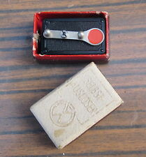 OLD VINTAGE GERMAN WERRA WIND UP POCKET SELF TIMER IN BOX CAMERA ACCESSORIE