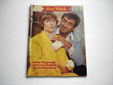 NUALA FITZGERALD Larry Solway rare STAR WEEK tv guide September 8 1979