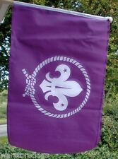 "SCOUTS LARGE HAND WAVING FLAG 18"" X 12"" with 24"" WOODEN POLE BOY SCOUT flags"