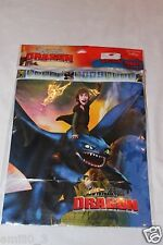 NEW HOW TO TRAIN YOUR DRAGON 1 HAPPY BIRTHDAY BANNER  PARTY SUPPLIES
